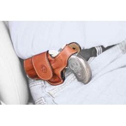 Bond Arms Driving Holster Left Handed Thumbsnap Leather Tan