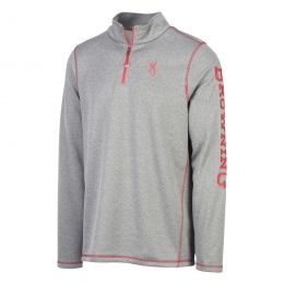 Browning Mens Pitch 1/4 Zip Sweatshirt | Free Shipping over $49!