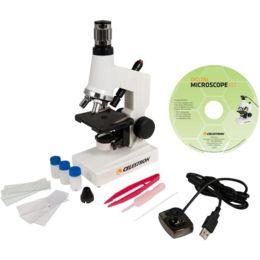Celestron Microscope Digital Kit MDK 40x-600x Camera Video USB - 44320