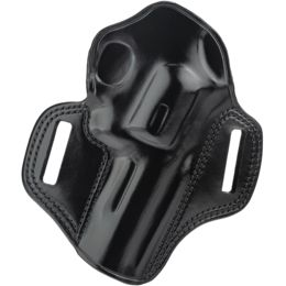 Galco Combat Master Concealment Holster - Right Hand, Black, S&W K Fr 4  in , Ruger 4 in  and Taurus 4 in  CM114B