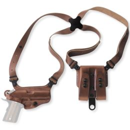 Galco Right Hand Miami Classic Shoulder System, Tan, Ruger SP101 2-3 in,  MC118