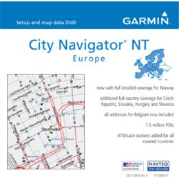 Garmin On the Road Maps GPS City Navigator Europe NT | Free