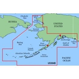 Garmin On The Water GPS Cartography BlueChart: Alaska ...