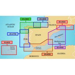 Garmin On The Water GPS Cartography BlueChart g2: Europe
