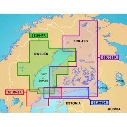 Garmin On The Water GPS Cartography BlueChart g2: Nordic ...