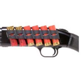 Mossberg 500 12 Gauge Side Saddle Tactical Shotgun 6 Shell Holder Quick Detach