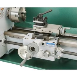Grizzly Industrial Benchtop Metal Lathe with DRO