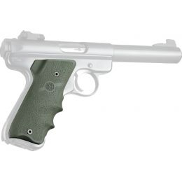 Hogue Ruger Mark II MK III Rubber Grip W//finger Grooves OD Green 82001 for sale online