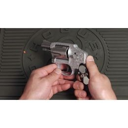 Hogue Laser Enhanced Round Butt Rubber Monogrip for Smith and Wesson