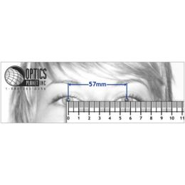 image regarding Printable Pupillary Distance Ruler identified as Webpage 4: Measuring Pupillary Length - How toward Read through Your