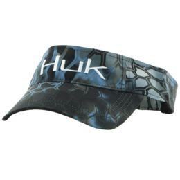 HUK Logo Visor H3000014 074 Kryptek Typhon One Size Fits All Fishing Sun Visor