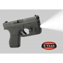 LaserMax CenterFire LED Weapon Light for Glock 42 and Glock 43 with Holster  CF-G42-LC