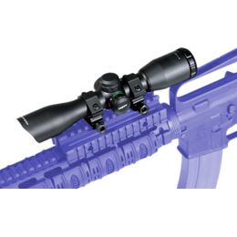 Leapers 4X32 9inch Compact Scope, 5 5inch Long Eye Relief