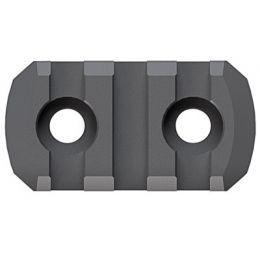 New 5 Slots M-LOK Aluminum Rail Section 3 inch 2 Pieces