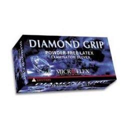 Microflex Diamond Grip Latex Gloves MF-300 Large BX//100