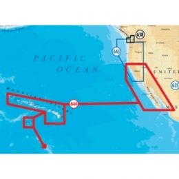 Navionics Platinum Plus Baja California and Hawaii Marine Map
