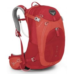 Osprey Packs Womens Mira AG 18 Hydration Pack Cherry Red 10000218