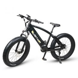 QuietKat Ranger 750W Electric Bike, w/ Rear Hub Motor, Chain Drive, 7  Speed, Suspension Fork, Mechanical Disc Brakes
