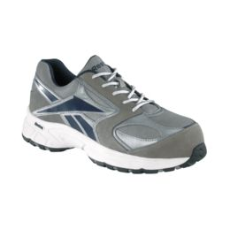 Reebok® Ateron RB4896 Comp-Toe Grey Work Athletic Oxfords Shoes Med /& Wide Sz