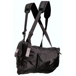 Ribz Stealth Black Front Pack | Free Shipping over $49!