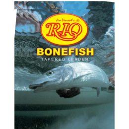 RIO Bonefish Leader 3 Pack 12 lb 10/' NEW FREE SHIPPING