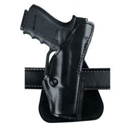 Safariland 5181 Hi-Ride Open Top Paddle Holster, S&W J Frame or Similar  2in , Plain Black, Right Hand, 5181-01-411