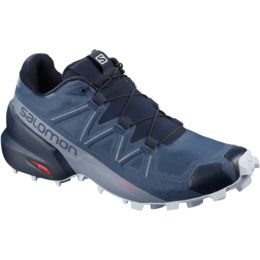 Salomon Womens Speedcross 5 Cashmere BlueWhiteStormy