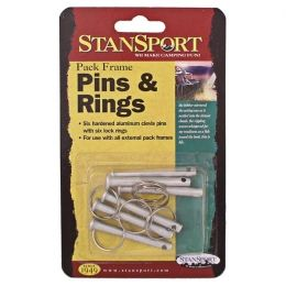 Stansport Pack Frame Pins and Rings CP-3