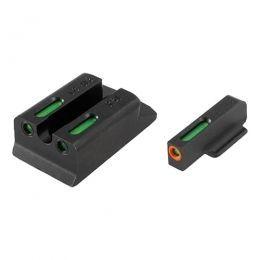 TruGlo Walther PPS M2 TFX PRO Front/Rear Tritium/Fiber Optic Sight Set