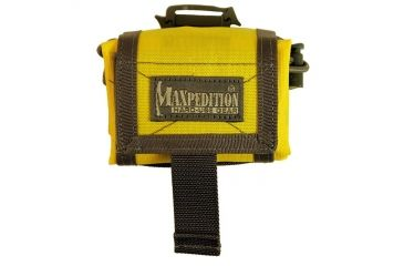 Maxpedition RollyPoly Folding Dump Pouch - Safety Yellow 0208SY