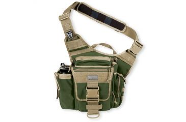 Maxpedition Jumbo Versipack Sling Pack - Green-Khaki 0412GK