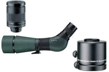 3-PC Swarovski Nature Observation Package with DigiScope Adapter - Swarovski HD High Definition Angled Spotting Scope 49614, Swarovski Eyepiece 49330 and Swarovski DCA Digiscoping Adaptor For Digital Cameras 49206