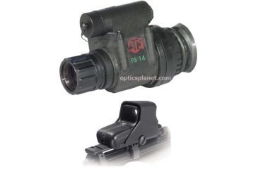 2-PC Universal Day/Night Tactical Package - EOTech HOLOgraphic Weapon Sight 550 and ATN PS14-CGT Night Vision Monocular