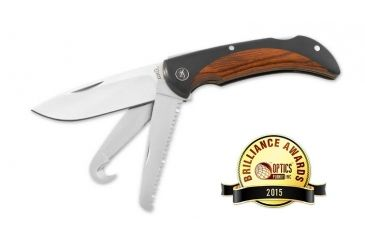 """2-Browning Featherweight Big Game Knife w/ 6.12"""" Overall Length"""