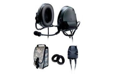 b10d06de14a 3M Peltor ComTac Dual ACH Neckband Headset Kit includes 2 PTT 88061 B