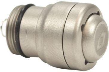 4Sevens Preon Clicky Rounded Satin Titanium Tailcap , FS.P-click-StiR