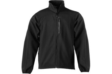 5.11 Paragon Softshell Jacket, Black, Size 4XL 48134-019-4XL