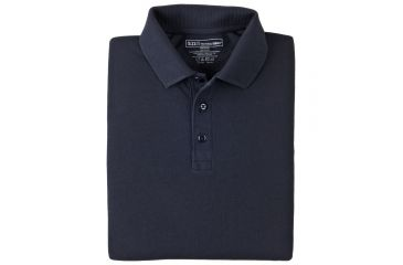 5.11 Professional Polo, Long Sleeve 42056, Shirt Style: Polo, Color: Dark Navy, Sleeve Type: Long Sleeve