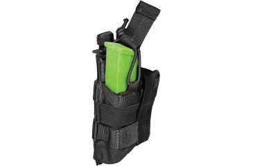 5.11 Tactical Double Pistol Bungee Cover - Black 56155-019-1 SZ