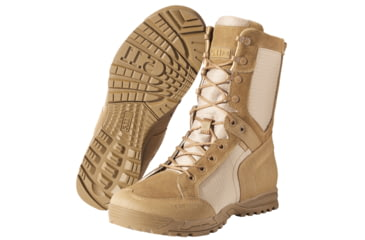 5.11 Tactical Recon Desert 2.0 Boots, Dark Coyote Width R, Size 14 11011-106-14-R