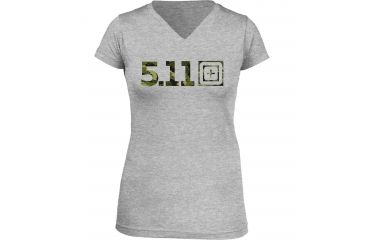 5.11 Tactical Women's Urban Assault T-Shirt, Heather Grey, S 31004AI-16-S