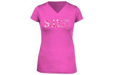 5.11 Tactical Women's Urban Assault T-Shirt, Pink, XL 31004AI-502-XL