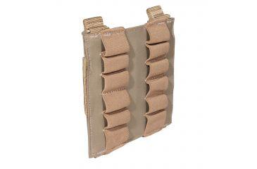 5.11 Tactical 12 Round Shotgun Pouch - Sandstone 56165-328-1 SZ