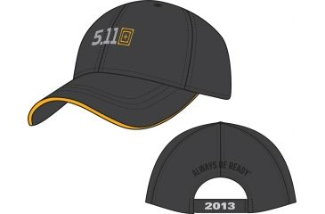 5.11 Tactical 2013 Marketing Hat, Charcoal 89352-018-1