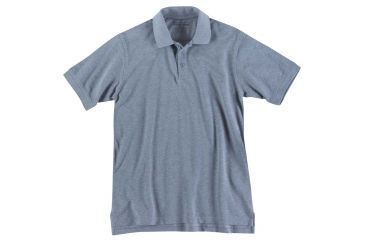 5.11 Tactical 41060T Professional Polo, Short Sleeve, Tall, Heather Grey, 2XL