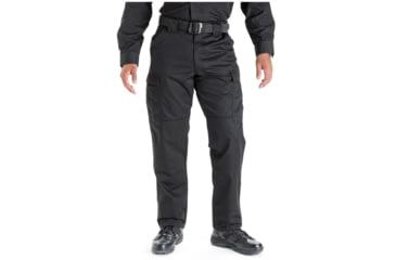 5.11 Tactical 74004 TDU Poly/Cotton Twill Pants, Black, 4XL, Regular