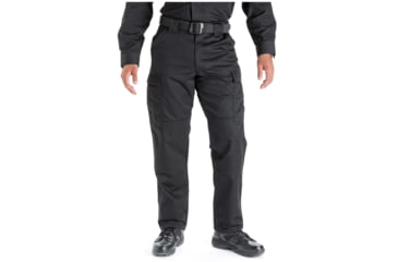 5.11 Tactical 74004 TDU Poly/Cotton Twill Pants, Black, Extra Small, Regular
