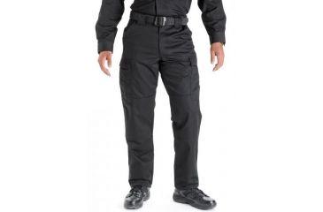 5.11 Tactical 74004 TDU Poly/Cotton Twill Pants, Black, Large, Short