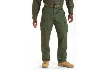 5.11 Tactical 74004 TDU Poly/Cotton Twill Pants, TDU Green, 2XL, Regular