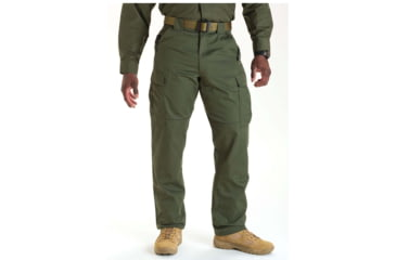 5.11 Tactical 74004 TDU Poly/Cotton Twill Pants, TDU Green, Extra Large, Long